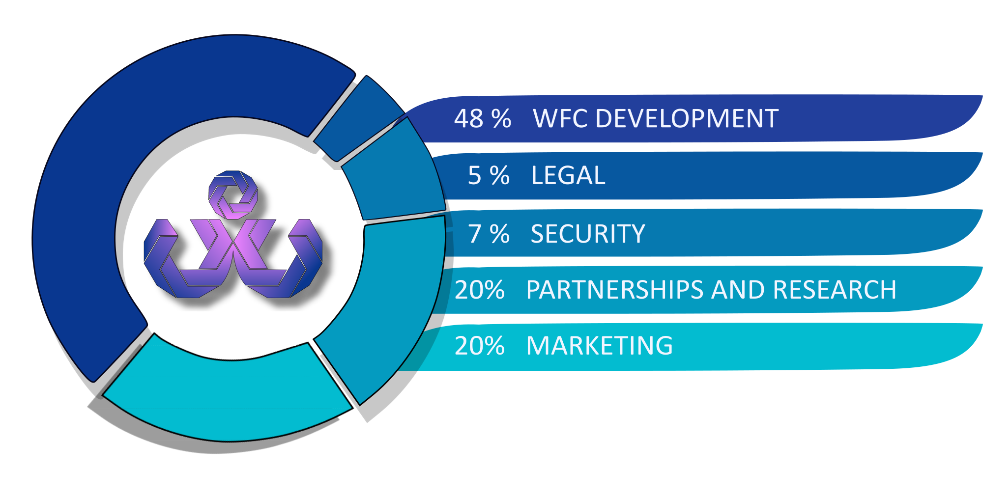 WFC ICO funds usage